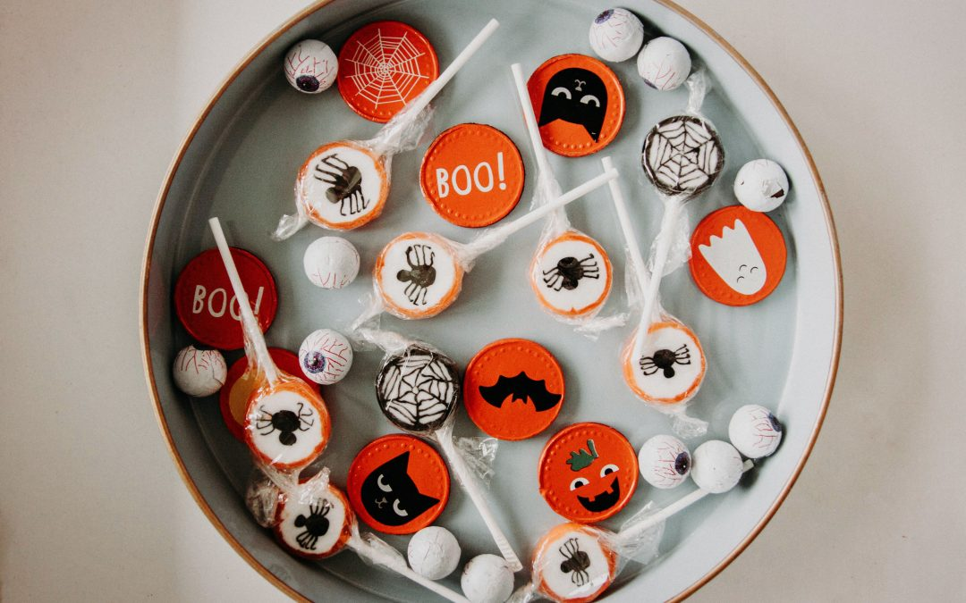 Halloween Gift Cards Lolli Pops
